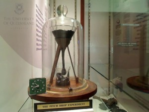Click to go to the live feed of The Pitch Drop Experiment